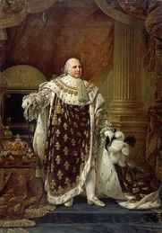 http://en.wikipedia.org/wiki/Louis_XVIII_of_France