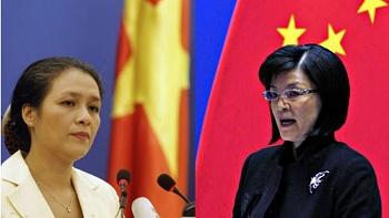 Phát ngôn viên bộ Ngoại giao Nguyễn Phương Nga, bà Khương Du